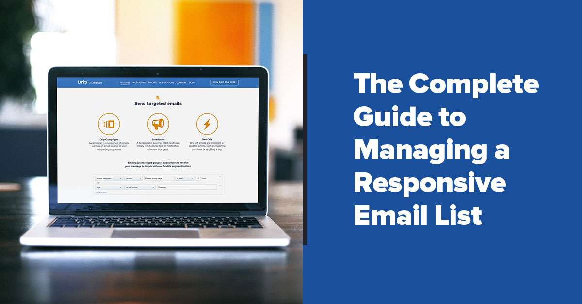 email list management best practices image