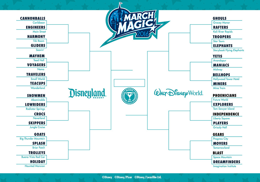 Disney March Magic