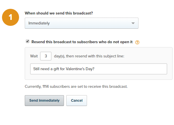 broadcast resend